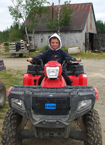 ATV riding in Kokadjo