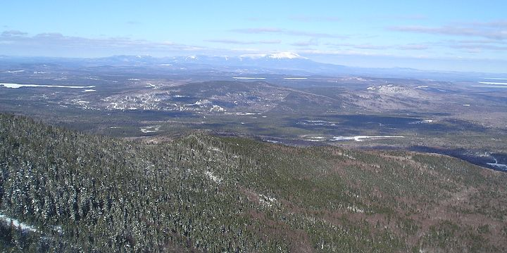 View of Mount Katahdin