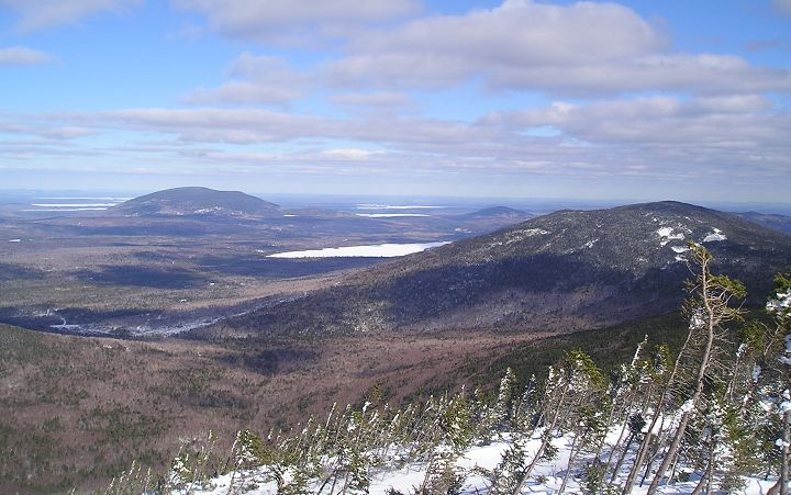 View from Number 4 Mountain