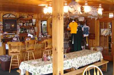 Dining at Kodadjo Trading Post