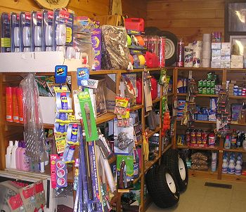 Supplies at Kokadjo Trading Post