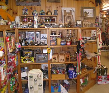 Souvenirs at Kokadjo Trading Post